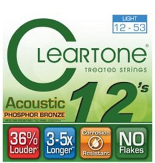 Light Acoustic Guitar Strings with Coating