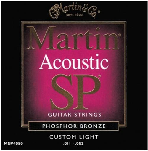 Custom Light Martin SP Phosphor Bronze Acoustic Guitar Strings