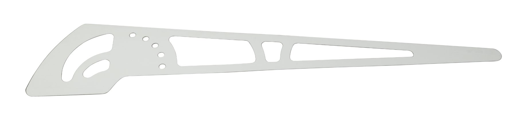 GB8 Left Metal Side Trim