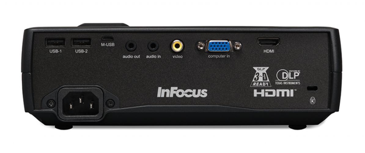 InFocus IN1116  2400lm WXGA DLP Portable Projector IN1116