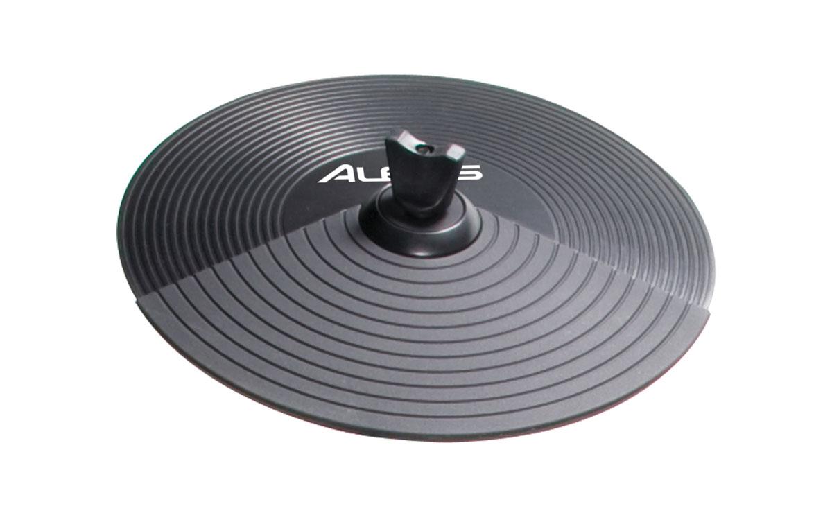Single-Zone Chokable Rubber Crash Cymbal Pad