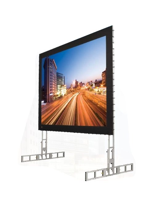 "90"" x 120"" Portable Projection Screen with Matt White XT1000V Screen"