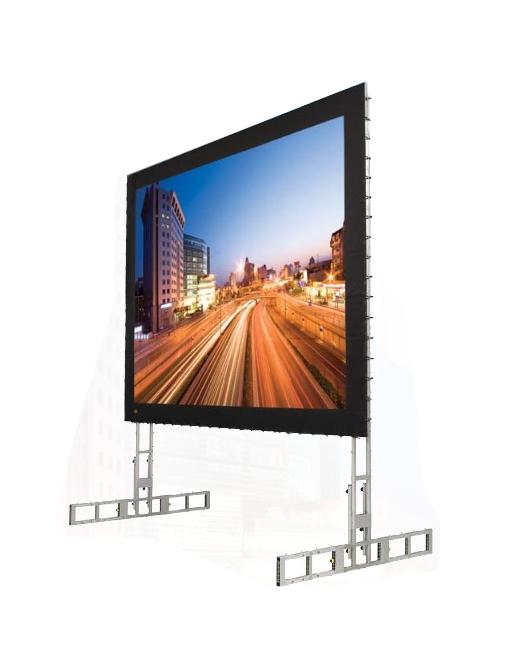 "90"" x 120"" Portable Projection Screen with Matt White XT1000V Screen"