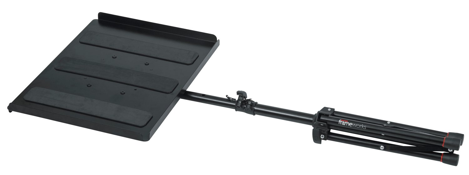 Frameworks Series Compact Adjustable Media Tray Stand
