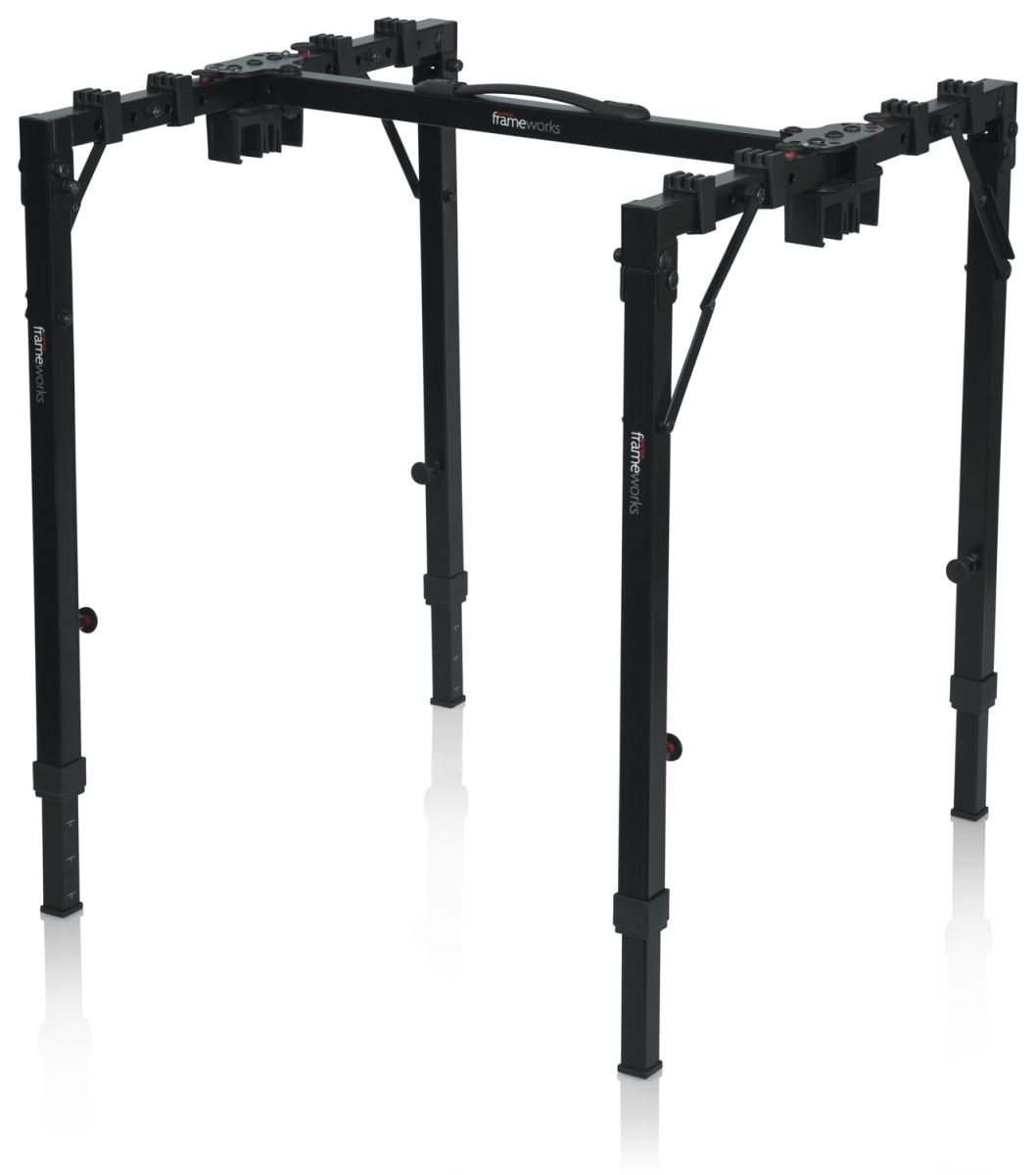 Frameworks Series Adjustable T-Stand Folding Workstation