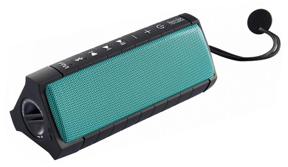 "Wireless Bluetooth Speaker, ""OceanProof"" and Shock-Resistant"