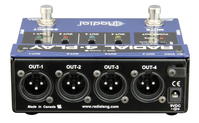 Multi-channel instrument DI