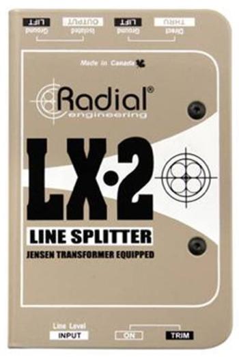 2-Channel Passive Line Level Splitter