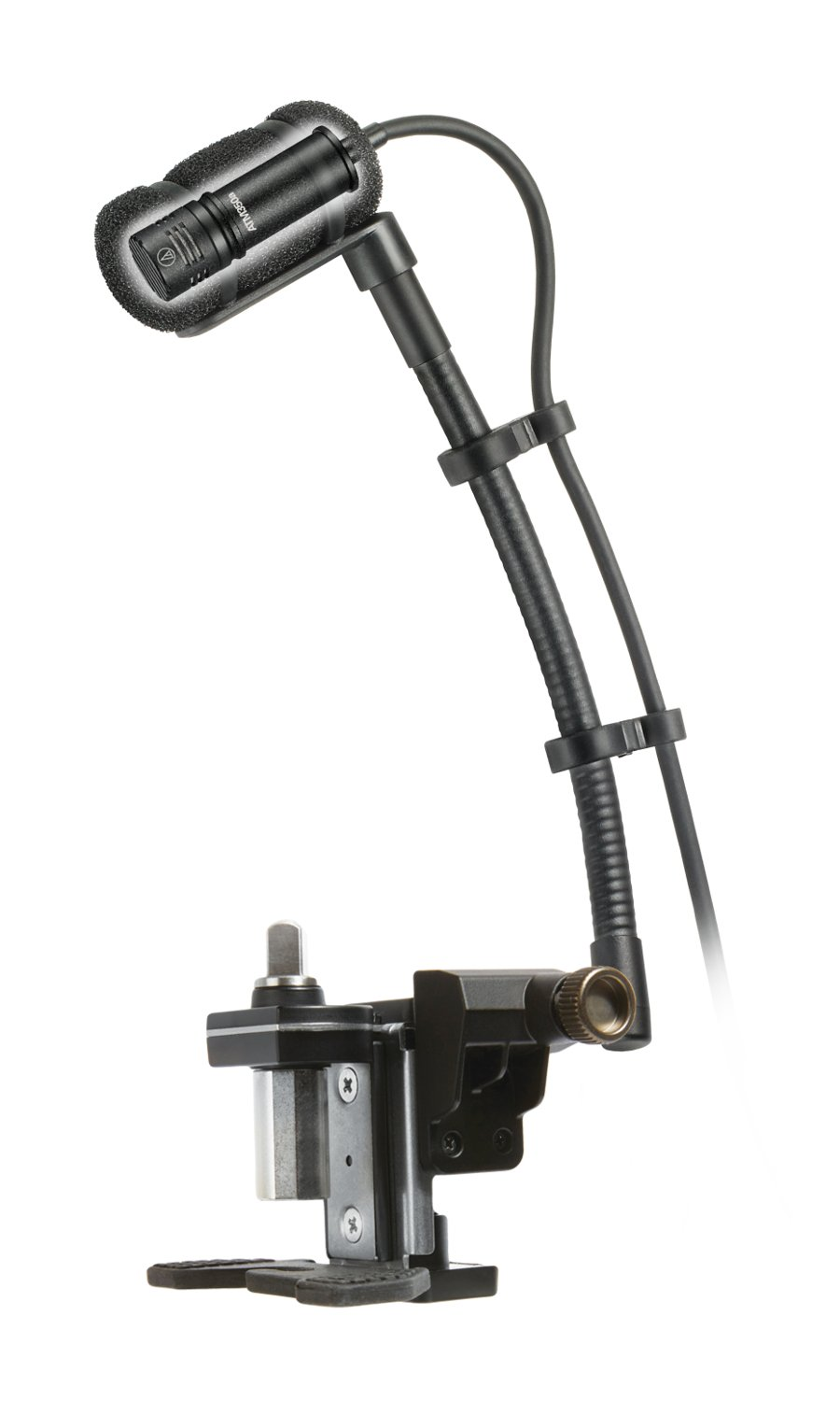 "Cardioid Condenser Instrument Microphone with Drum Mounting System, 5"" Gooseneck"