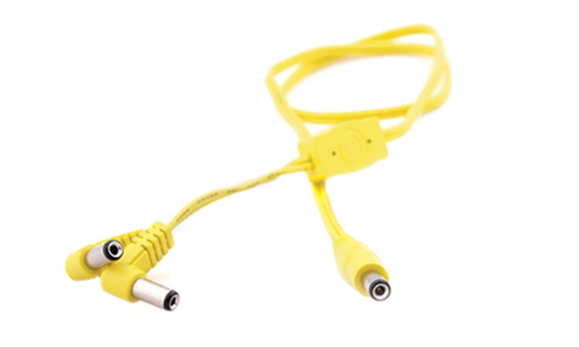 55cm DC Voltage Doubler Cable in Yellow