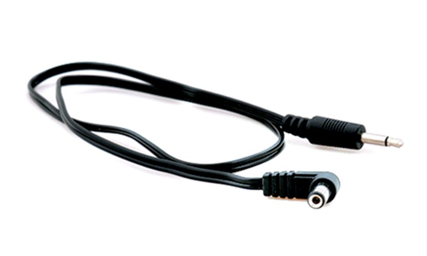 50cm DC Pedalboard Cable in Black