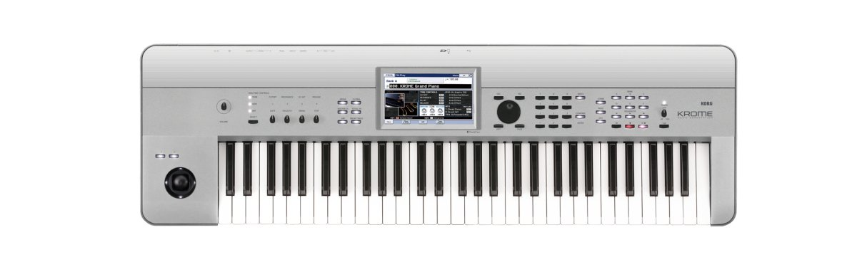 61-Key Music Workstation, Limited Edition Platinum