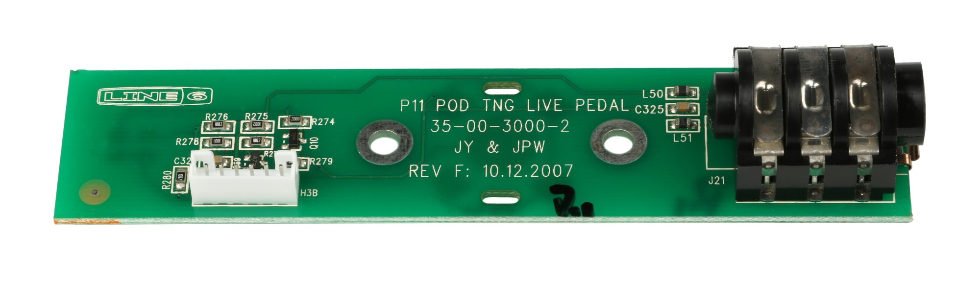 Pedal PCB Assembly for Pod X3 Live