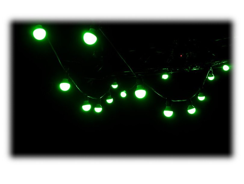 30ft RGBW LED 20 Bulb Light Strand