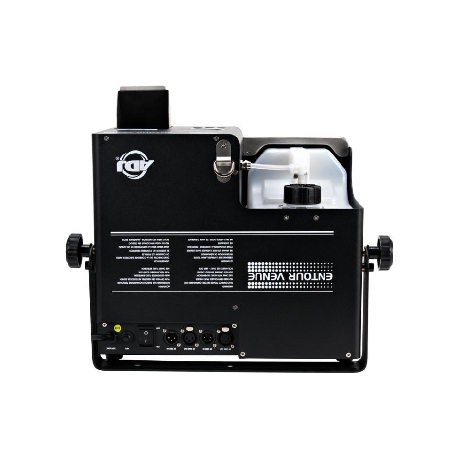 1500W High Powered Faze Machine with DMX, Remote, and Timer