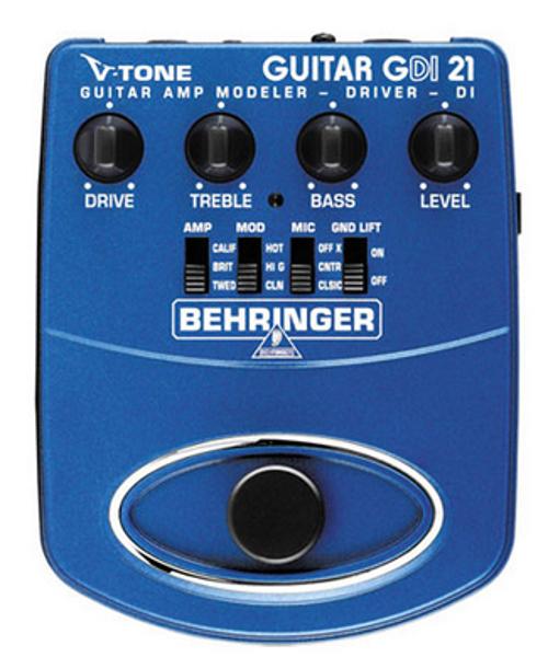 Direct Box/Guitar Amp Modeler