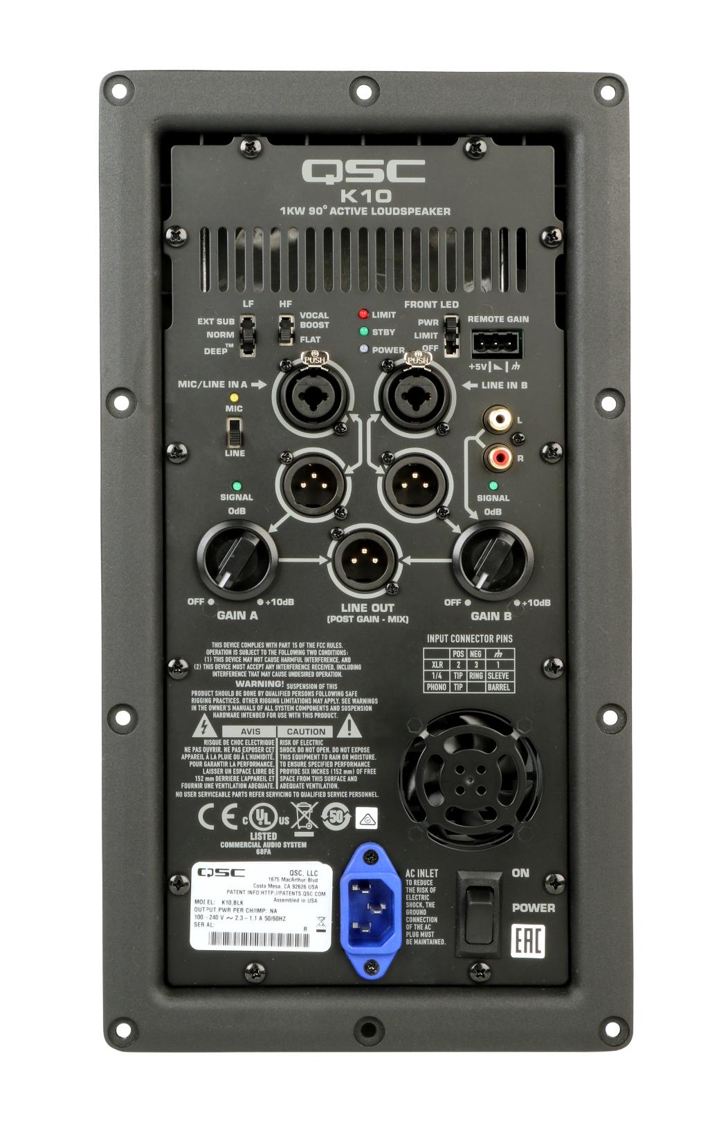 K10 Amp Assembly