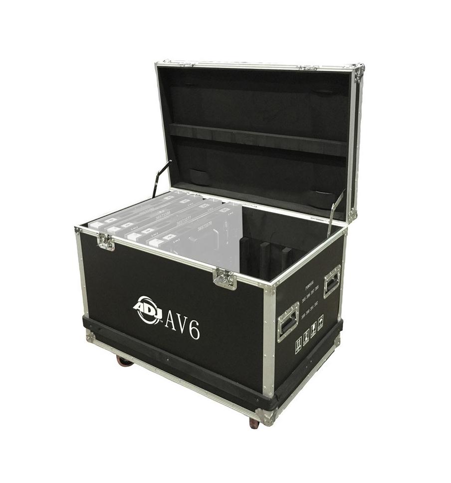 ADJ AV6FC Flight Case for (8) AV6 Panels AV6FC