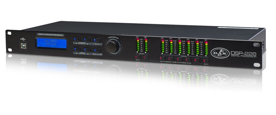 2 In/6 Out Configureable Digital SIgnal Processor, USB Ready