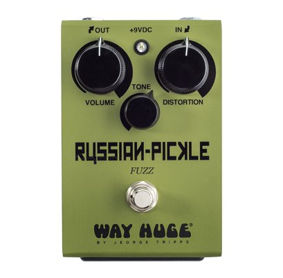 Way Huge Russian Pickle Fuzz Fuzz Pedal WHE408