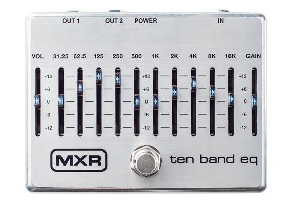 10-Band EQ Pedal