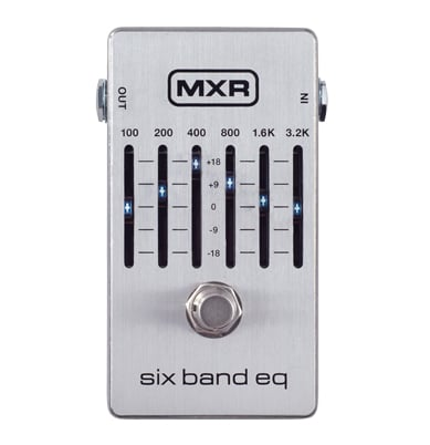 6-Band EQ Pedal