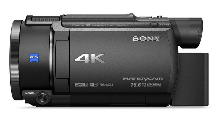 Sony 4K HD Video Recording Camcorder