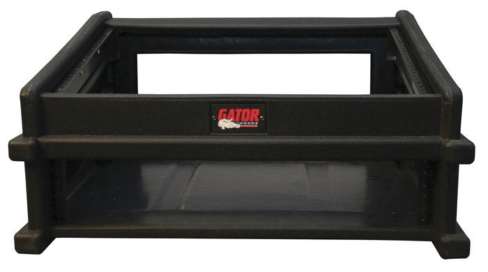 DJ Rack Case (8 Space Top, 2 Space Bottom)