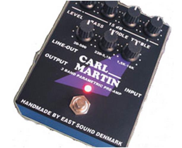 3 Band Parametric Pre-Amp