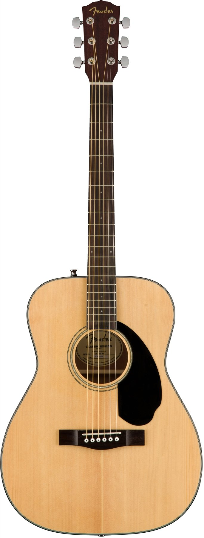 Concert Acoustic Guitar with Mahogany Back and Sides, Rosewood Fingerboard