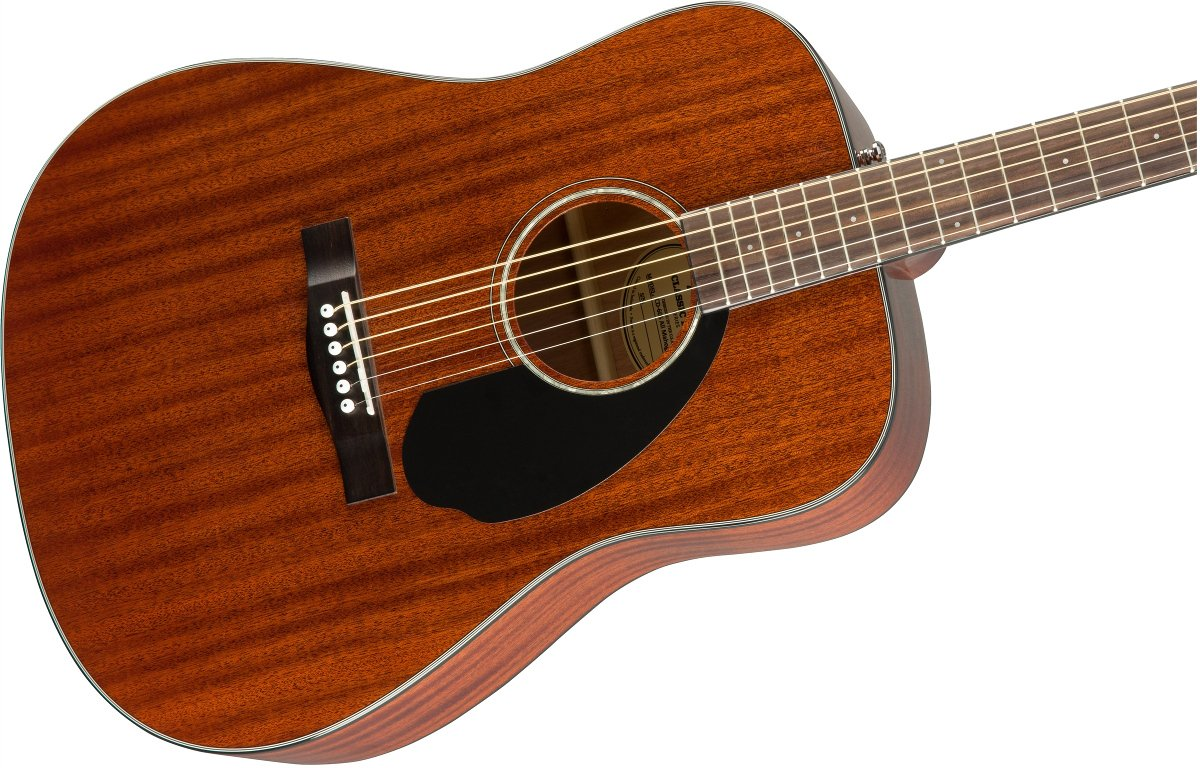 Dreadnought Acoustic Guitar with Mahogany Back and Sides, Rosewood Fingerboard