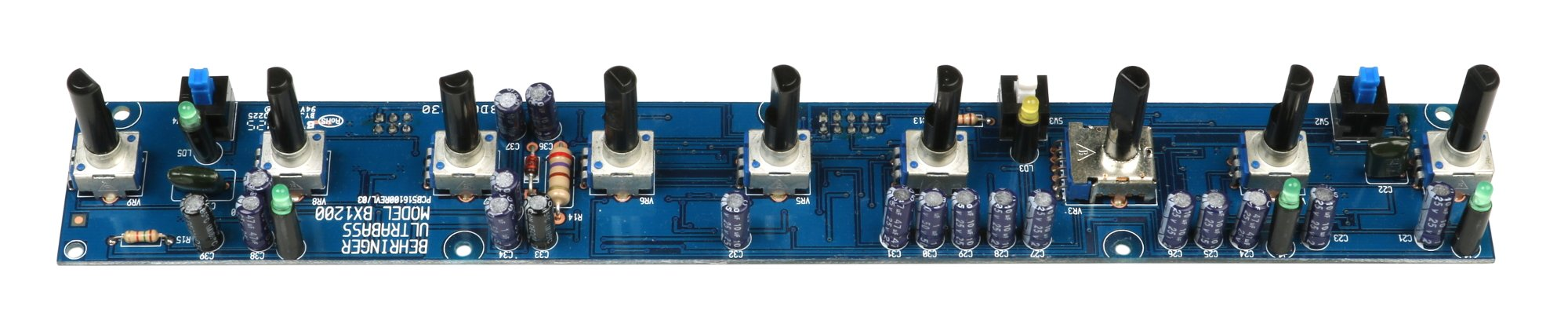 Front UI PCB Assembly for BX1200