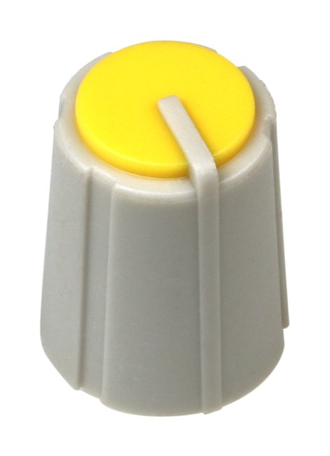 Yellow Knob for MixWizard 16