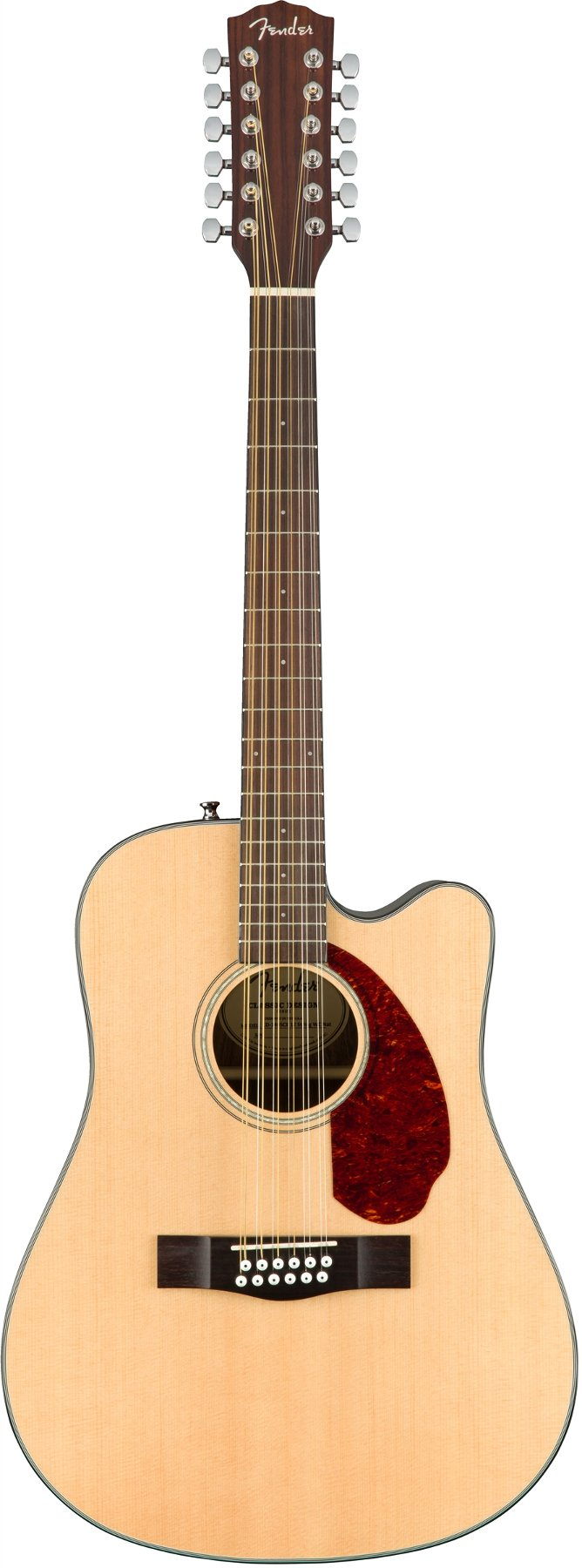 12-String Dreadnought Acoustic-Electric Guitar with Hardshell Case