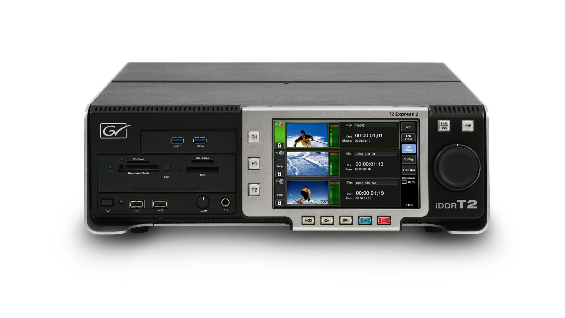 Grass Valley T2 Express 2 (HDD) Recorder SD/HD Pro AV Digital T2-IDDR-EXPRESS-2
