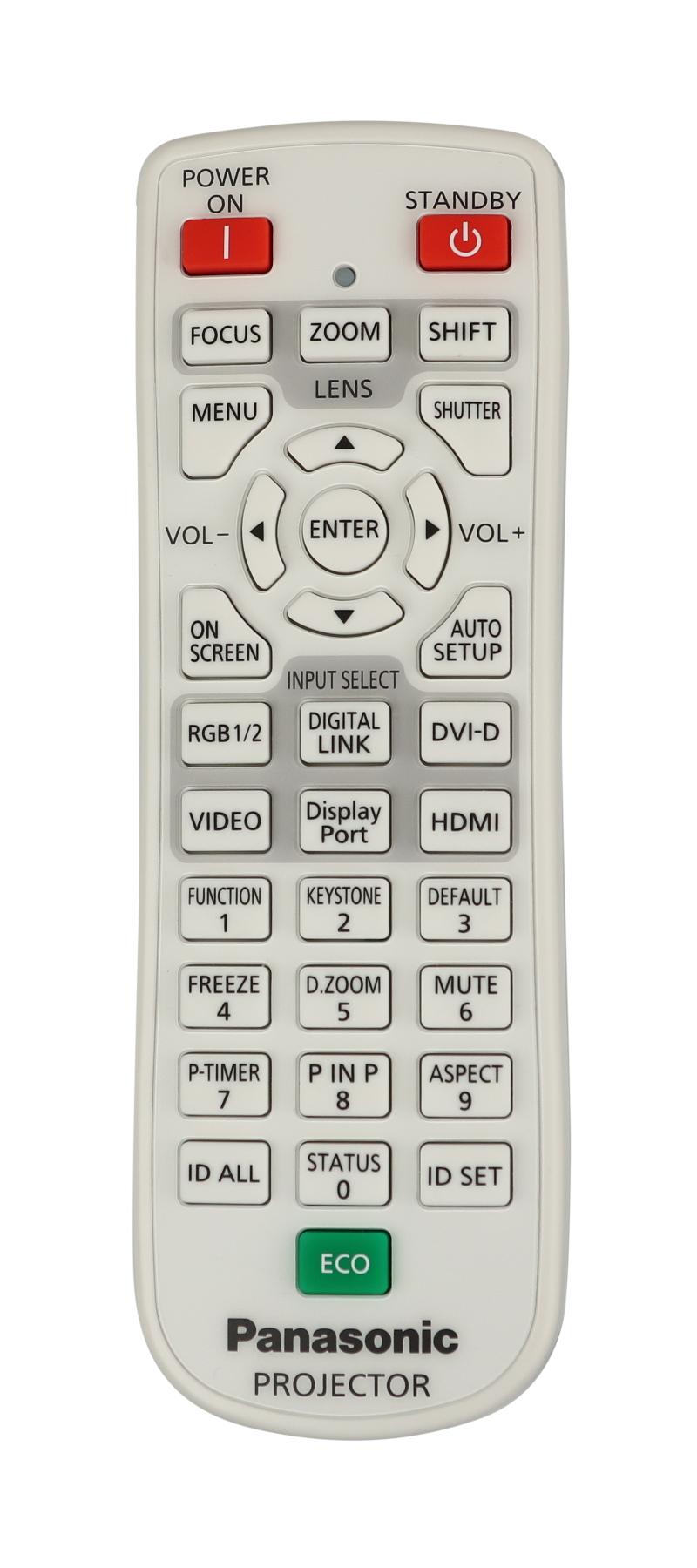 Remote Control for PT-EW730ZU