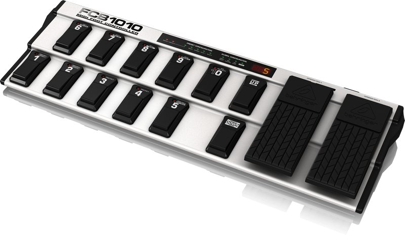 MIDI Foot Controller with 2 Expression Pedals