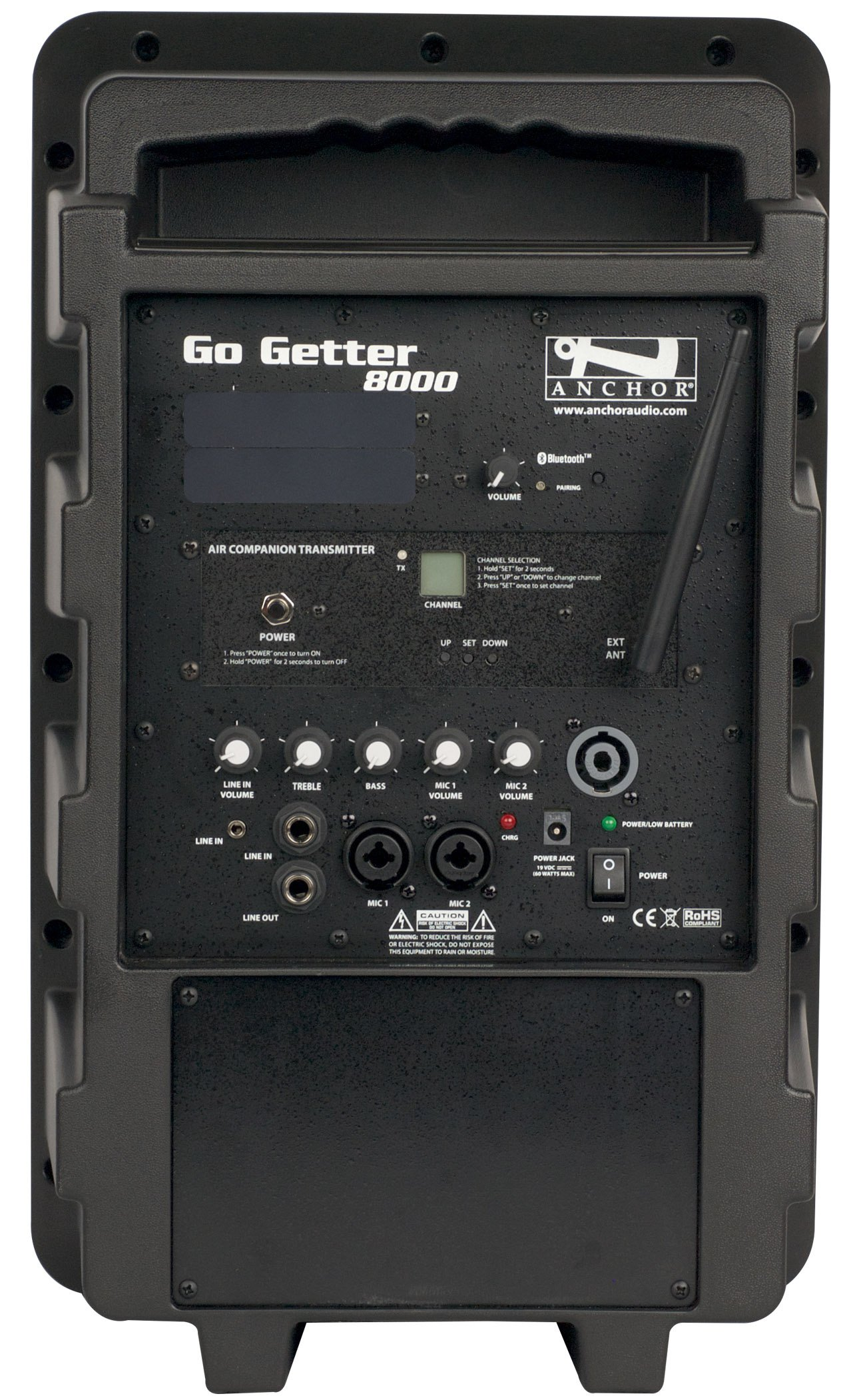 Go Getter with Two Wireless Receivers and One AIR Wireless Companion Transmitter