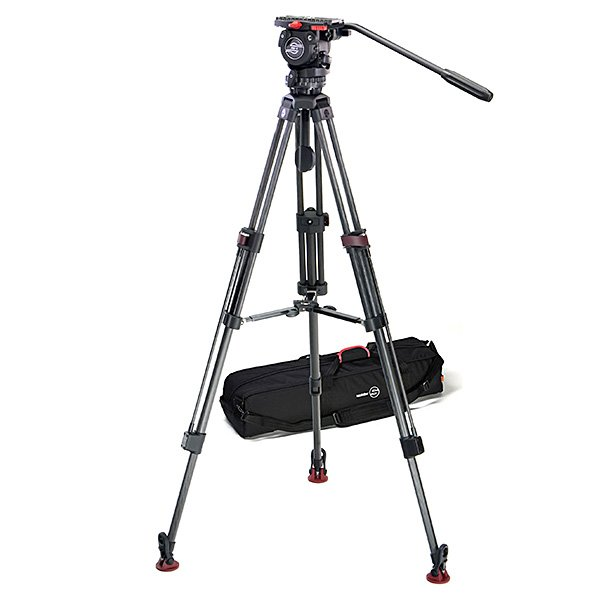 Carbon Fiber Tripod System with FSB 6 Head, SpeedLock 75 CF Tripod