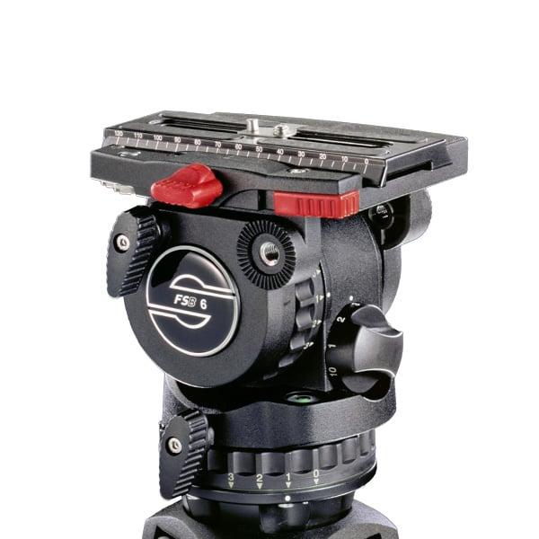Carbon Fiber Tripod System with FSB 6 Head, SpeedLock 75 CF Tripod