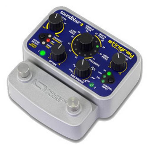 Soundblox 2 Stingray Multi-Filter Effects Pedal