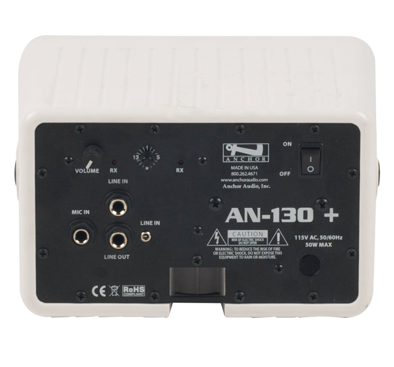 AN-130+ with One Wireless and Remote Control, White