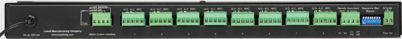 1RU 8-Step Power Sequencer with Rocker Switch