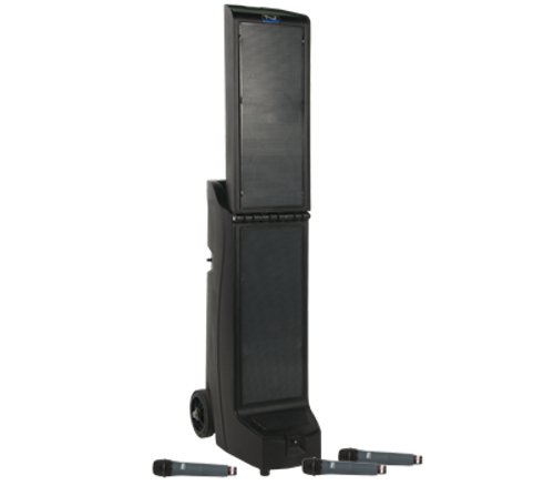 BIG-8000CU3 with Bluetooth, CD/MP3 and 3 Wireless Receivers and CM-60