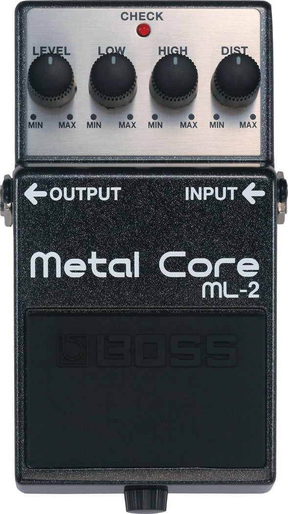 Metal Core Guitar Distortion Pedal