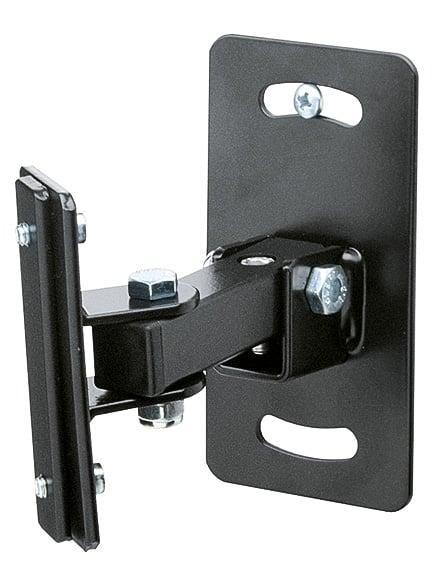 K&M Stands 24180  Speaker Wall Mount in black  24180
