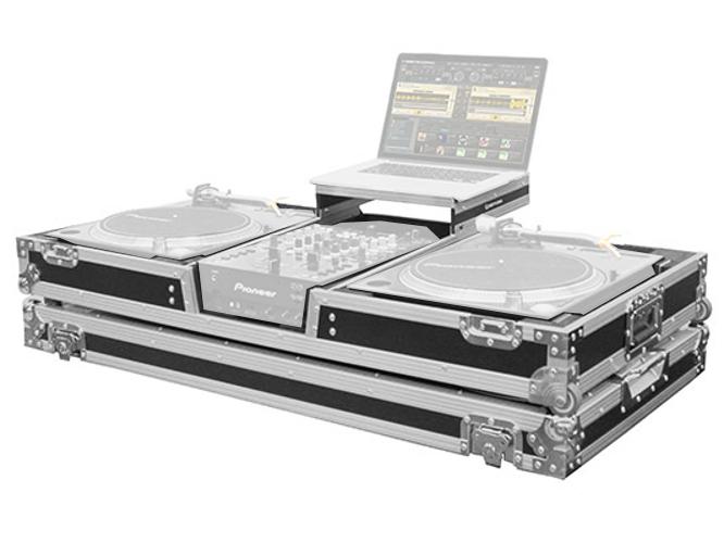 Flight Zone Low Profile Glide-Style DJ Coffin