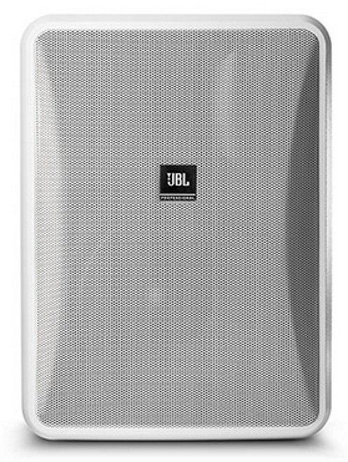 High Output Indoor/Outdoor, Background/Foreground Speaker, White, Sold In Pairs