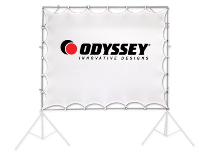 "90""x60"" Scrim Werks Video Projection Stretch Screen"