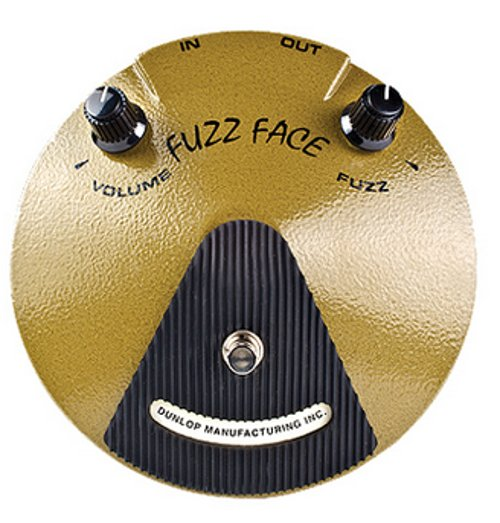 Overdrive Pedal, Fuzz Face, Eric Johnson